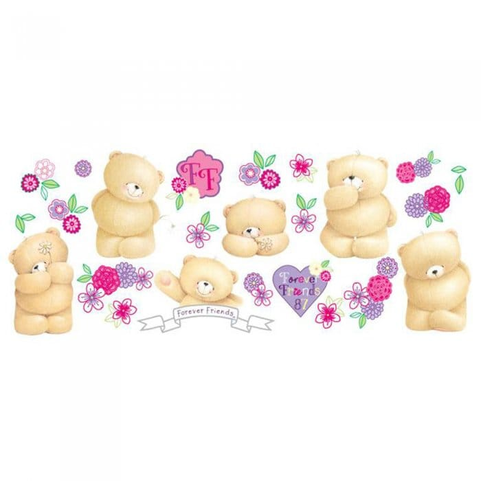 Fun4Walls Forever Friends Wall Stickers Stikarounds