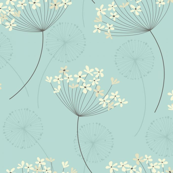 Black And Pink Feature Wallpaper I Love Wallpaper Capri Wallpaper Teal Cream Patterned