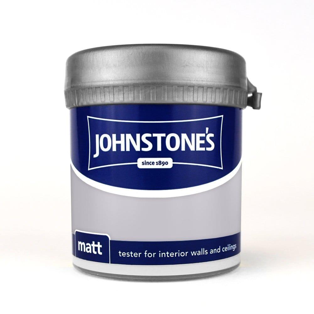 Johnstone S Moonlit Sky Light Grey Emulsion Paint 75ml