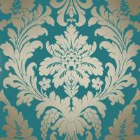 I Love Wallpaper Shimmer Metallic Grande Damask Wallpaper ...