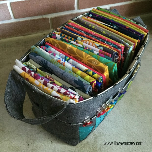 Sew and Hour Basket for Fabric Storage