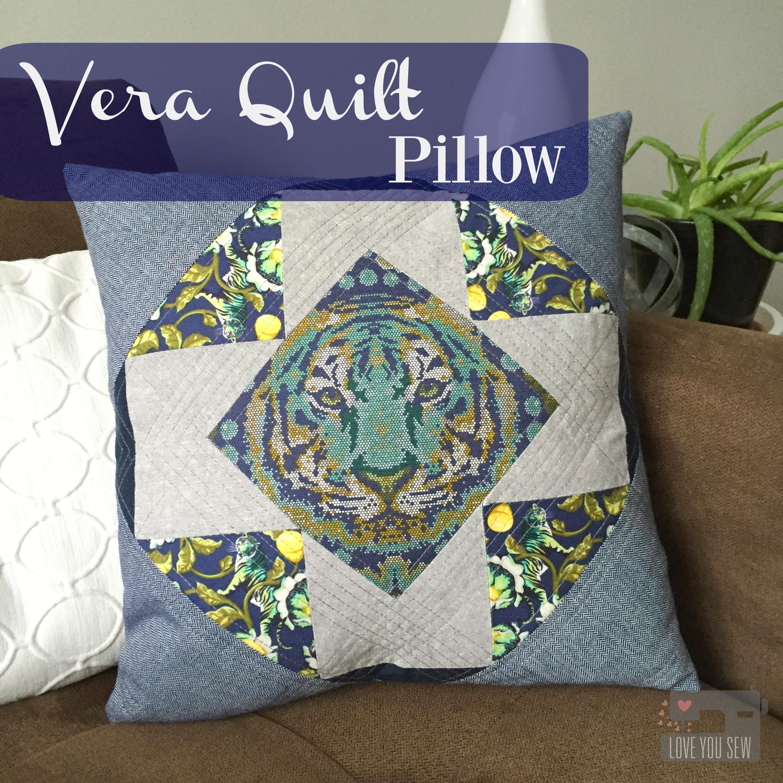 Vera Quilt Pillow