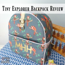 Tiny Explorer Backpack Review