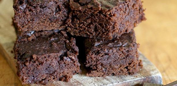 Brownies di ceci al doppio cioccolato