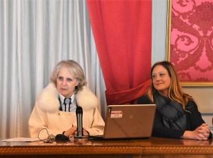 La Preside M.G. Greco e la Vice M.R. Arcuri