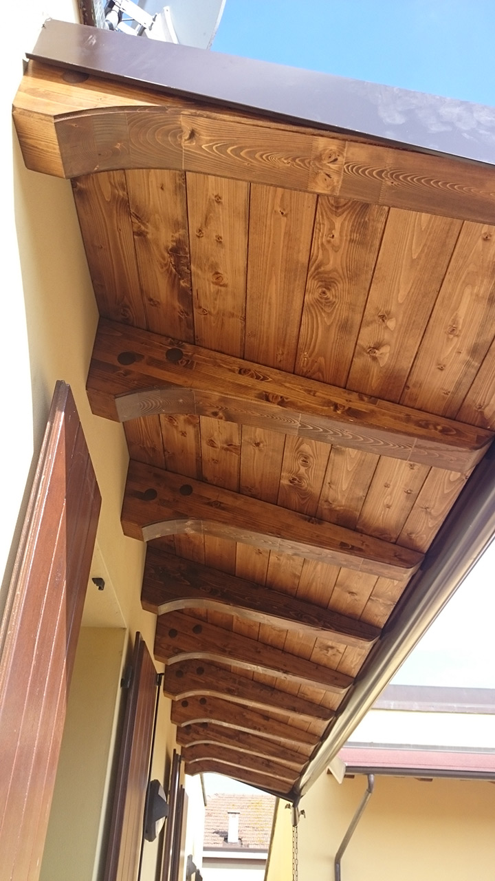 Pergolati in legno a Ferrara Parma e Bologna Tettoie in