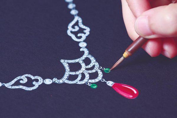 disegnare gioiello