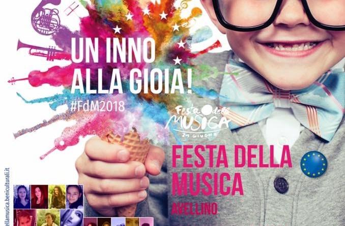 LA FESTA DELLA MUSICA. GRANDE SUCCESSO PER L' EVENTO CANORO AL CORSO DI  AVELLINO