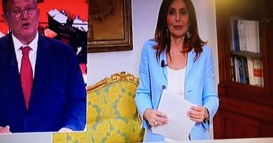 """SUI CANALI RAI:""""FINALMENTE È CADUTO IL GOVERNO"""""""