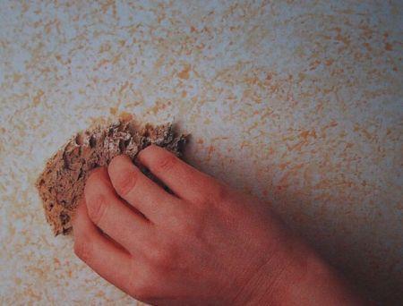 Come decorare le pareti con effetto spugnato www for Effetto spugnato pareti foto