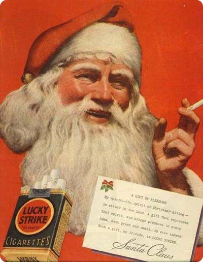 Babbo Natale fuma Lucky Strike  Il Post