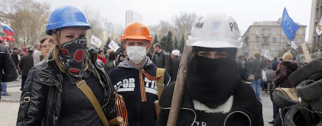 Proteste Ucraina orientale