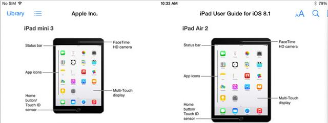 Le foto di iPad Air 2 e iPad Mini 3 diffuse per sbaglio da
