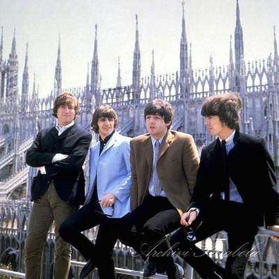 Le foto dei Beatles a Milano nel 1965  Il Post