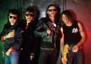 Motörhead (v.l. Phil Campbell, Phil Taylor, Lemmy Kilmister, Mi