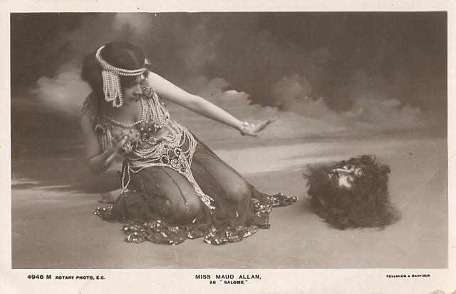 Maud Allan, la prima Salomè in scena.