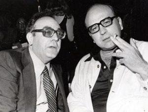 Rino Formica con Bettino Craxi nel 1969