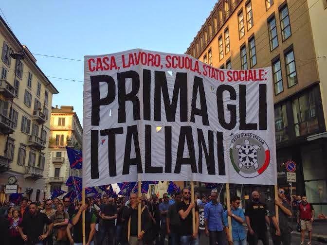Risultati immagini per prima gli italiani
