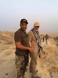 su un fronte in Iraq