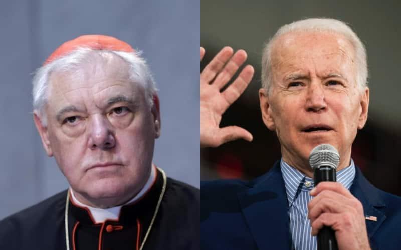 """Il cardinale Müller bastona Biden: """"Non posso sostenere un cattolico abortista"""""""