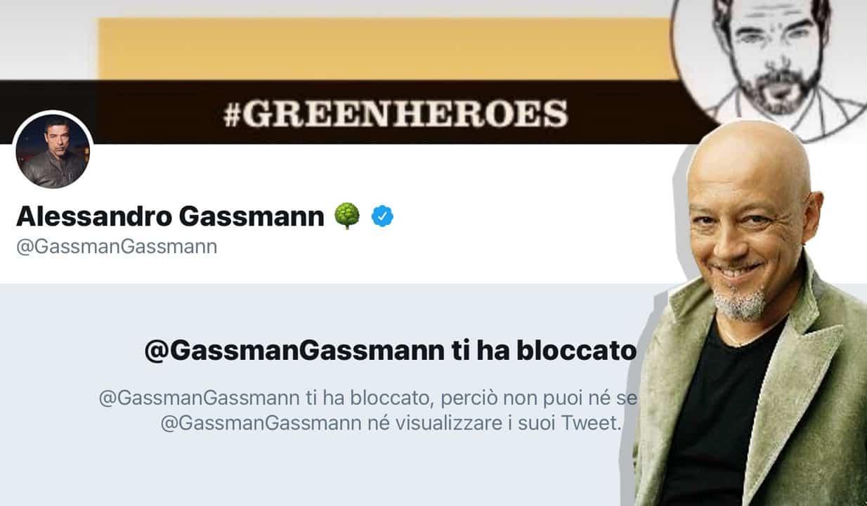 "Gassmann rosica e blocca Ruggeri. Lui: ""Mi sa che le battute devo tenerle per me"""