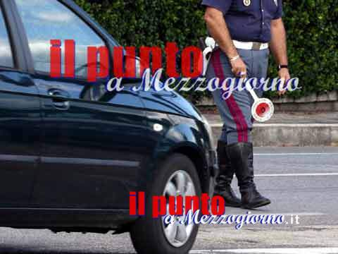 Ubriaco contromano in pieno centro a Isola Liri, denunciato marocchino 59enne