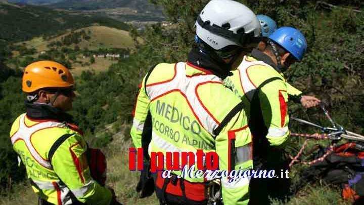 Si perde sulle montagne di Campoli appennino, 57enne ritrovato in serata dal Soccorso Alpino