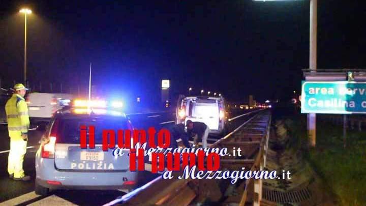 Sull'autogrill con oggetti da scasso, la polizia stradale denuncia due persone