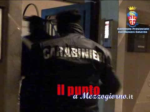Caserta – Dieci arresti per mafia, anche ex sindaco