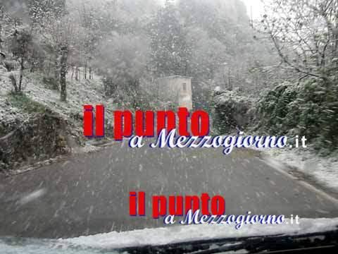 Meteo, neve nel Lazio oltre quota 700 metri
