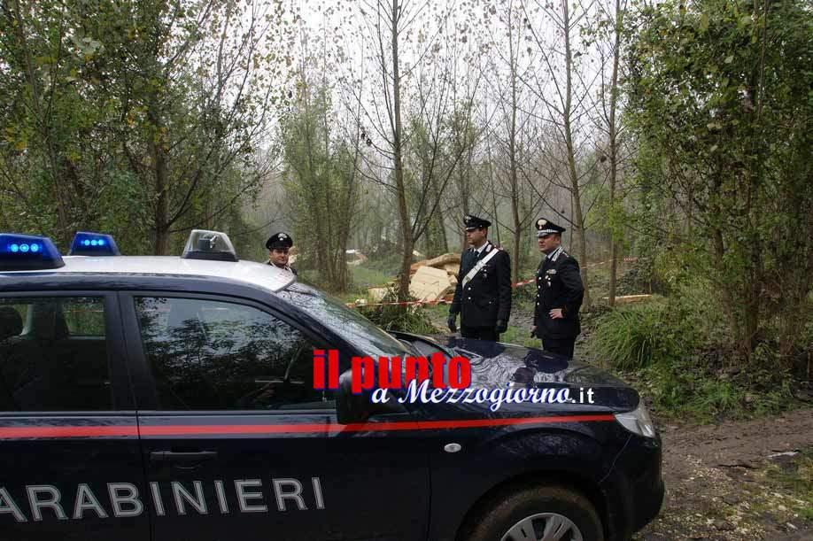 Mini discariche abusive a 1000 metri slm, quattro denunciati a Filettino