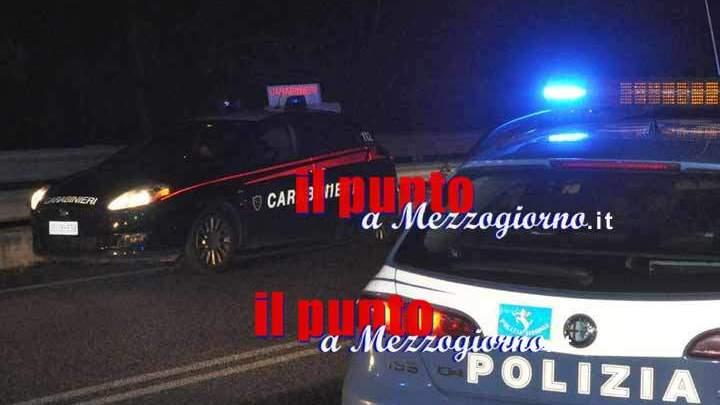 In manette un 24enne a Cassino per detenzione di sostanza stupefacente, resistenza e lesioni a pubblico ufficiale