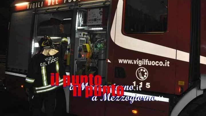 Bomba carta nel distributore di sigarette. Paura a Frosinone
