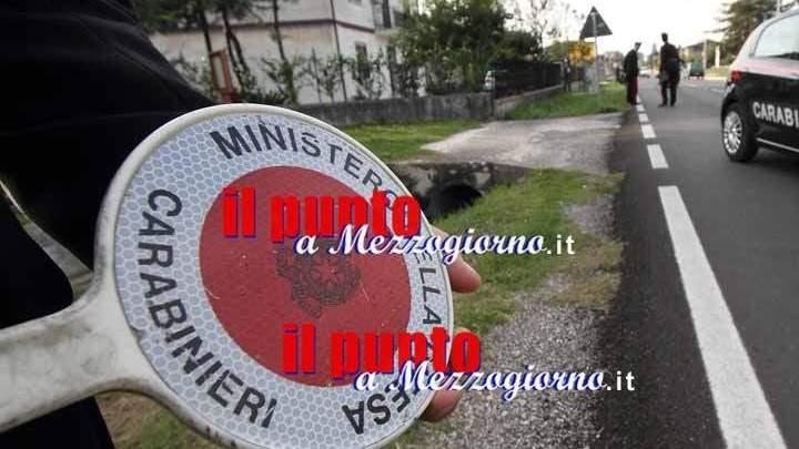 Rubano un'auto a Castelforte ma vengono sorpresi dall'alt dei carabinieri