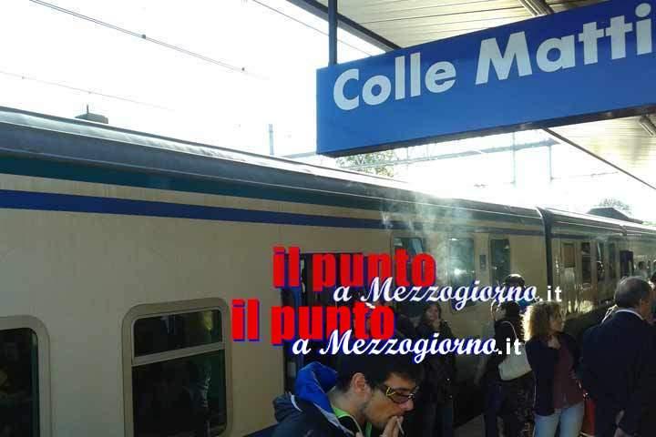 Persona investita da convoglio a Colle Mattia, traffico ferroviario in tilt sulla linea Roma Cassino