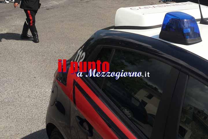 Aggredisce la ex mentre assiste un'anziana a Castrocielo, 34enne arrestato