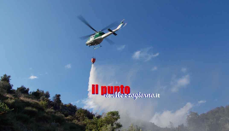 Ancora roghi tra Castrocielo e Piedimonte San Germano. Emergenza incendi senza tregua