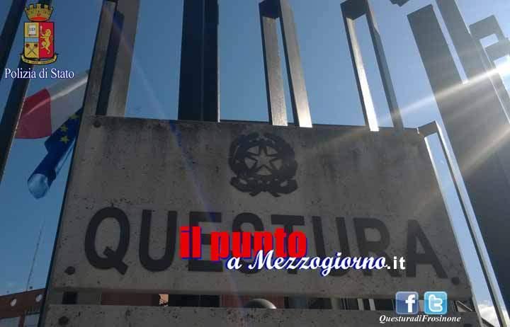 Ordine del questore di Frosinone: quattro stranieri allontanati dal territorio nazionale
