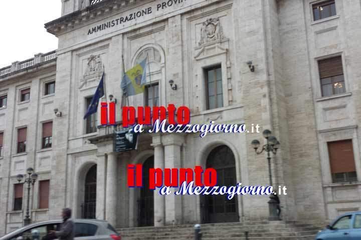 Rinnovo del Consiglio Provinciale di Frosinone, si vota l'otto gennaio