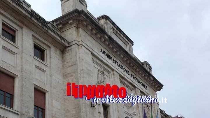 Nuova amministrazione provinciale di Frosinone, stessi servizi ma risparmi per 170mila euro