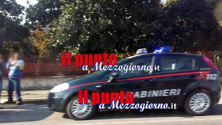 Litiga con coppia di anziani di Cervaro e li prende a bastonate, denunciato 51enne
