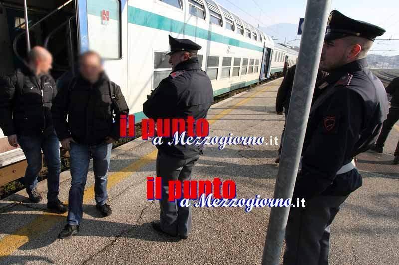 Rapinatori minorenni sulla tratta ferroviaria Cassino Vairano denunciati dalla Polfer