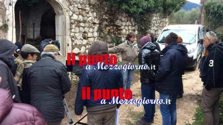 Dopo Montecassino Ulisse fa tappa al Parco della memoria storica di San Pietro Infine