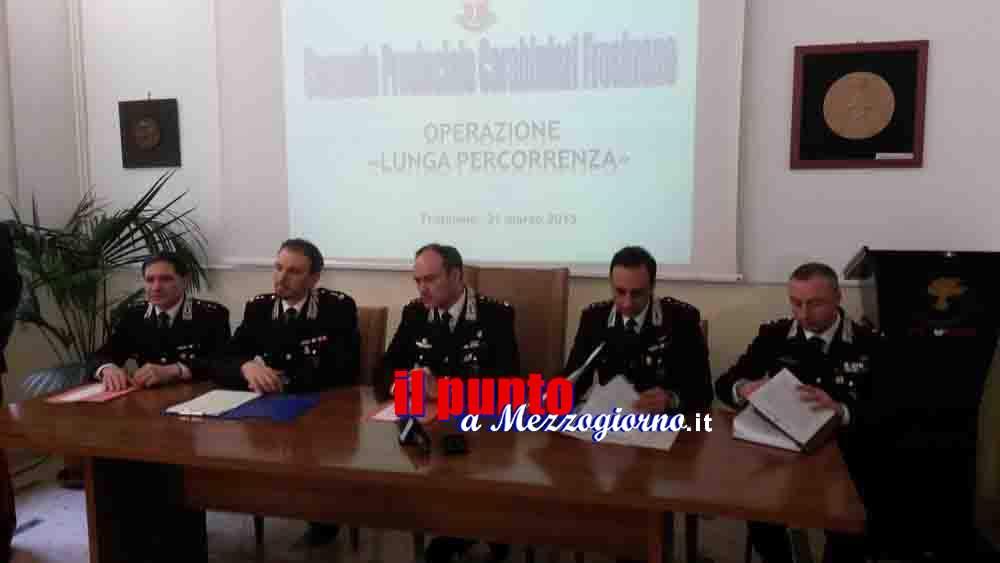 Dalla Spagna a Cassino, arrestati i manager campani del narcotraffico
