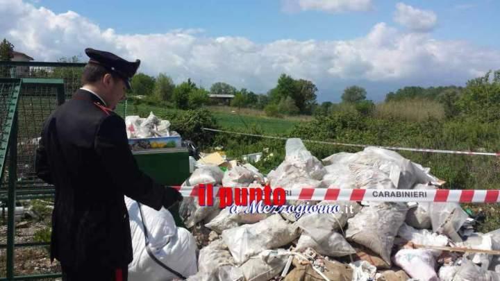 Cervaro, brucia rifiuti 'a cielo aperto', denunciato dai carabineri un 53enne