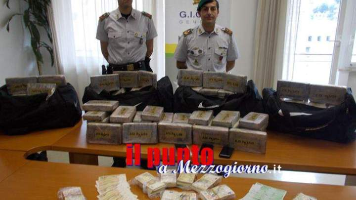 Droga al Porto di Genova, sequestrati 185 chili di cocaina. Arrestati anche operatori portuali