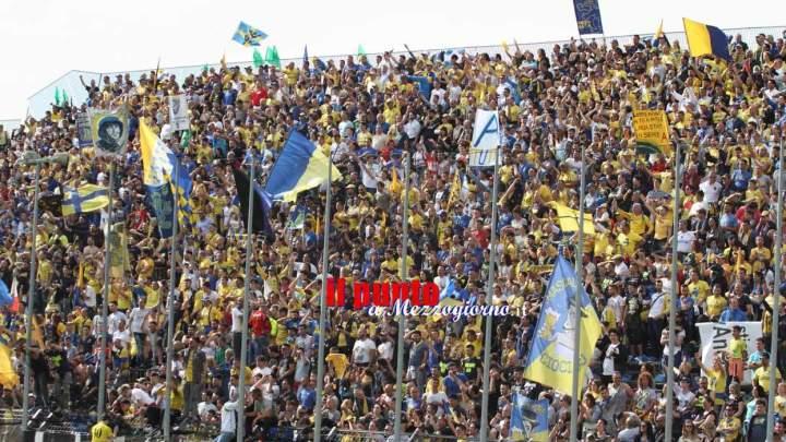 Frosinone- Ascoli: Daspo per un tifoso ospite