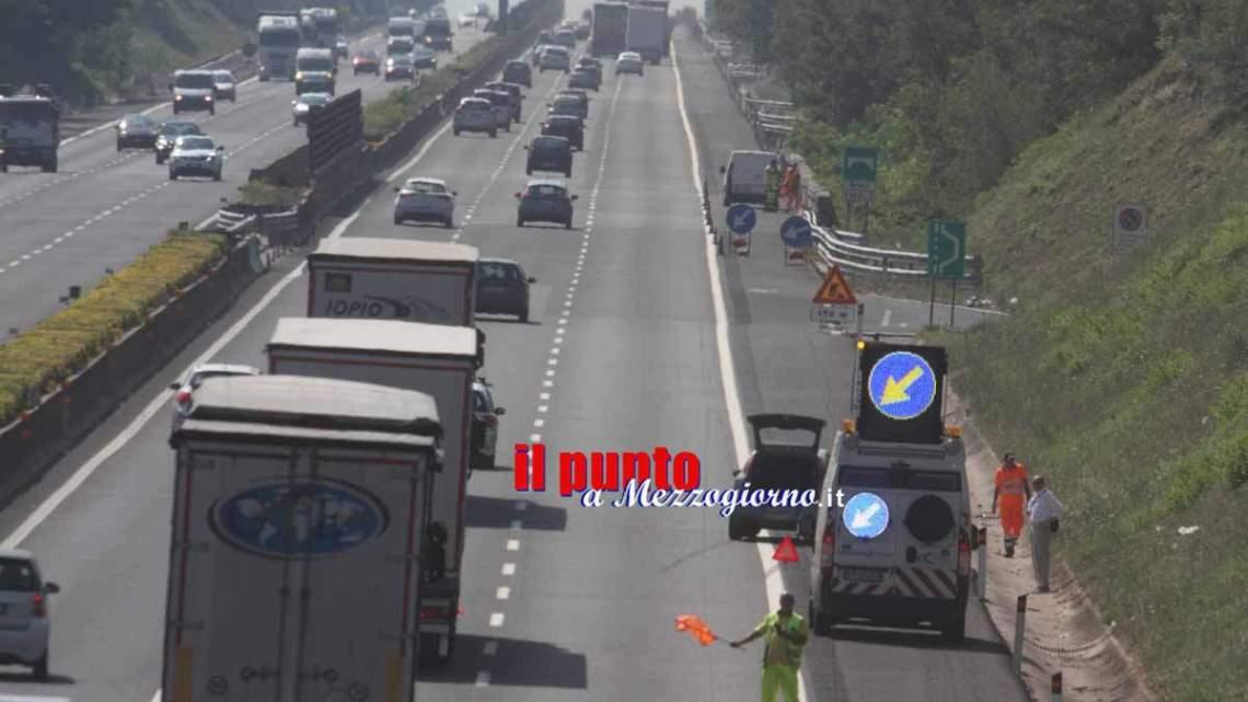 Disastro sull'A1 a Pontecorvo: muoiono padre, madre e figlio di sei mesi