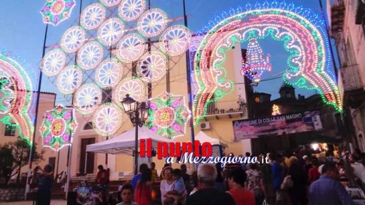 """""""Il Borgo racconta"""", tantissima gente ha affollato Colle San Magno"""