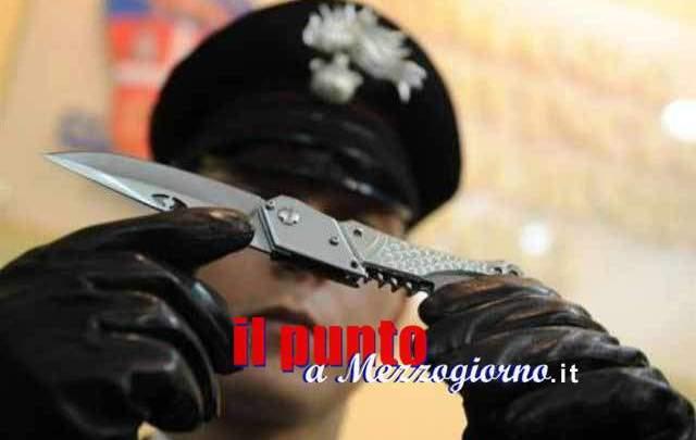 Coltellate di Capodanno a Sezze, denunciato minorenne